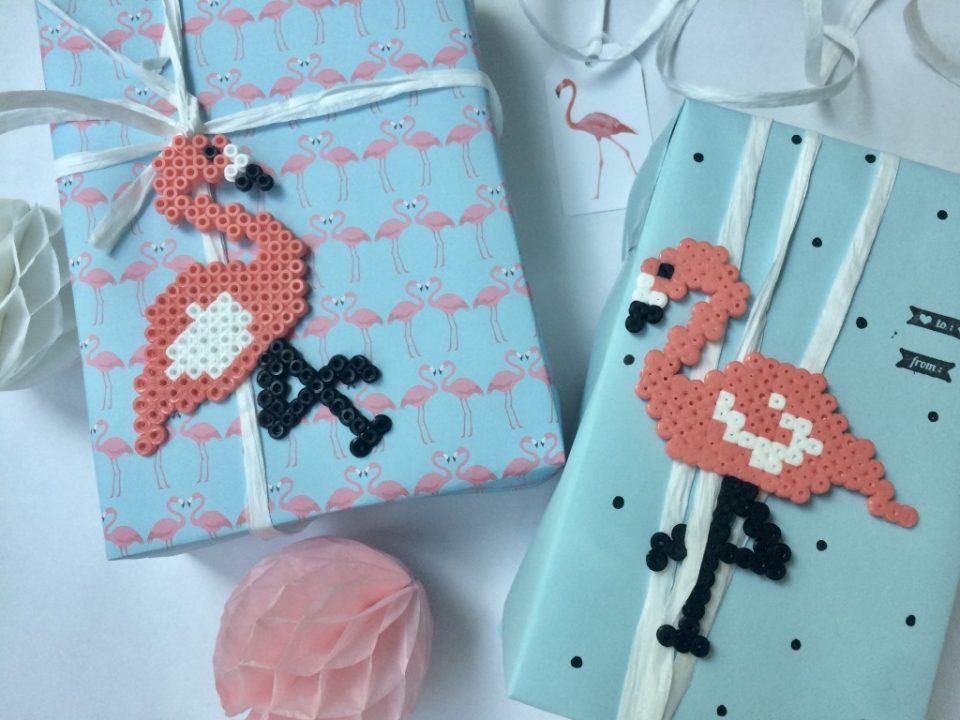 Verpackung Mit Bügelperlen Flamingo Anleitung Family Und Living