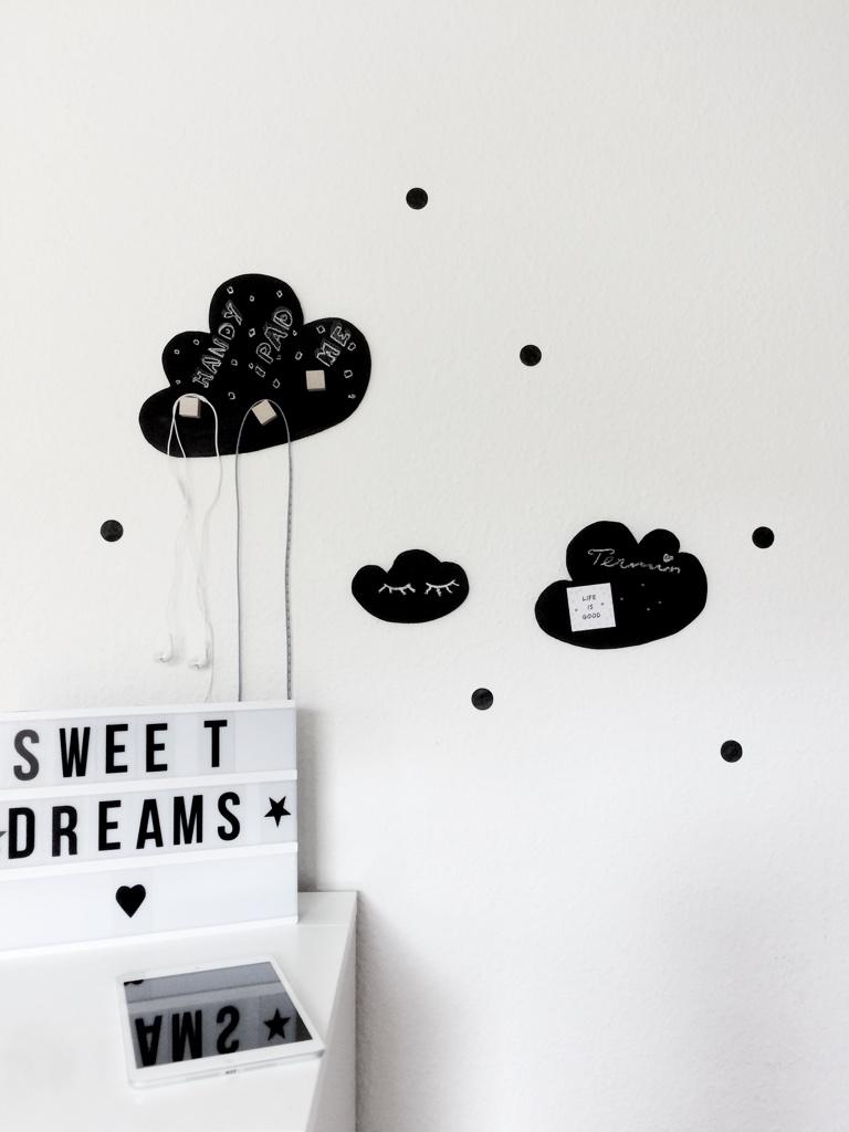 Diy Wolken Kinderzimmer Dekoration Nordic Style Family Und Living