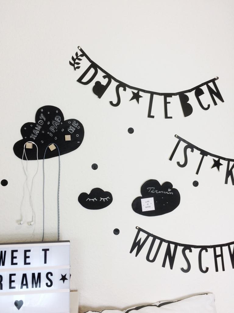 DIY Wolken-Kinderzimmer Dekoration - Nordic Style - Family und Living
