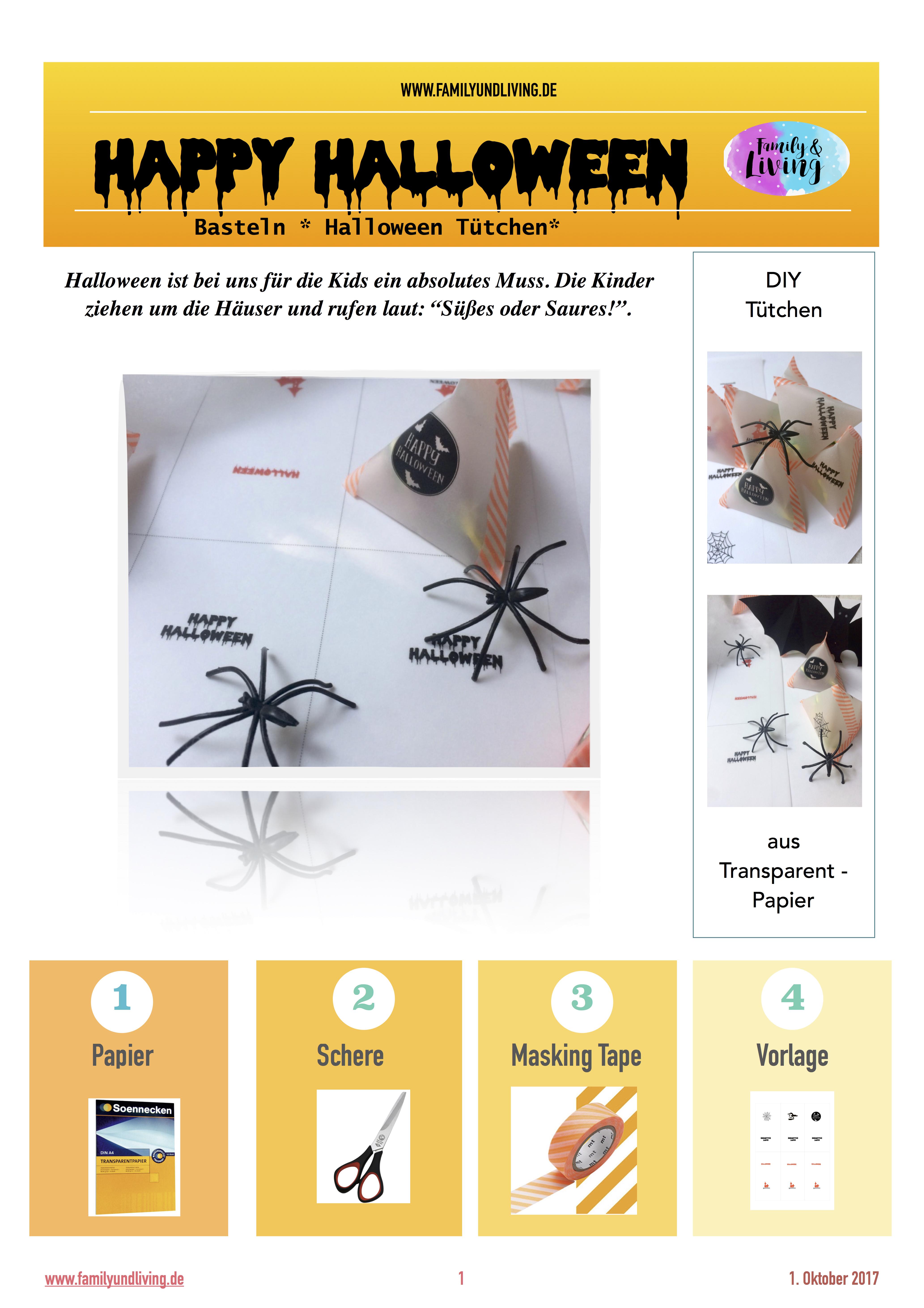 Diy Halloween Verpackung Kostenlose Printable
