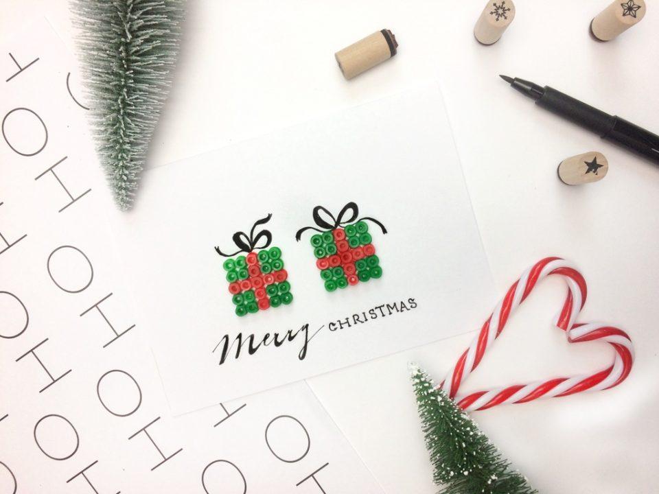 Weihnachtskarten Beschriften.Adventskalender Türchen 2 Mit Weihnachtskarten Family Und Living