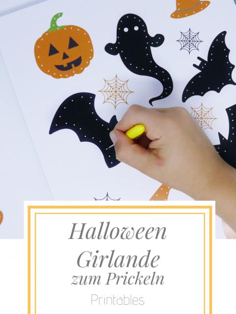 Halloween Girlande Zum Prickeln Family Und Living